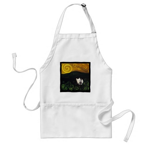 Frenchie Butt Adult Apron