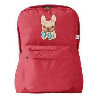 Frenchie Can Do It With You Backpack
