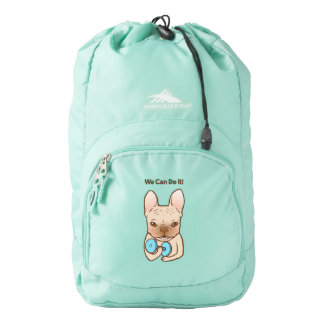 Frenchie Can Do It With You High Sierra Backpack