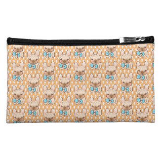 Frenchie Can Do It With You Makeup Bag