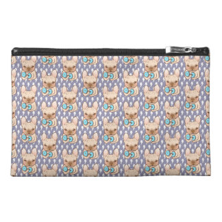 Frenchie Can Do It With You Travel Accessories Bag
