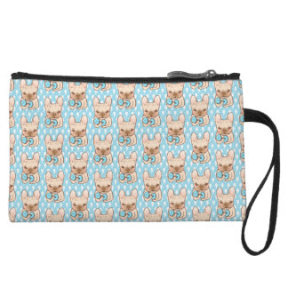 Frenchie Can Do It With You Wristlet Wallet