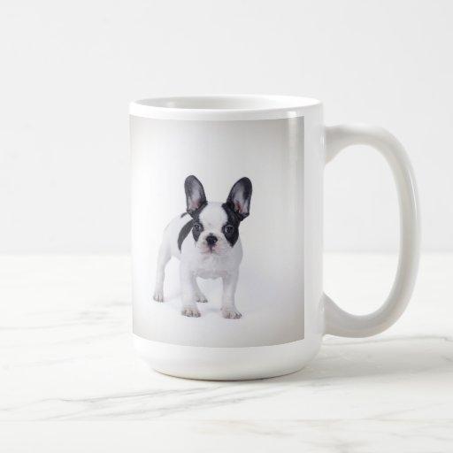Frenchie Classic White Coffee Mug