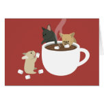 Frenchie Cocoa Card