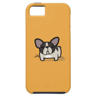 Frenchie de varios colores Brindle iPhone 5 Coberturas