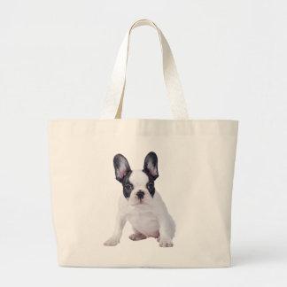 Frenchie - French bulldog puppy Canvas Bag