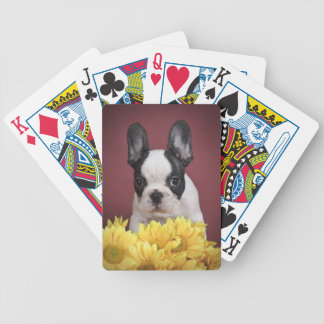 Frenchie - French bulldog puppy Bicycle Playing Cards