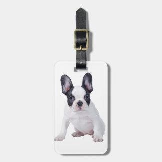 Frenchie - French bulldog puppy Luggage Tag
