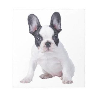 Frenchie - French bulldog puppy Notepad