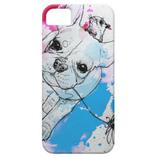 FRENCHIE iPhone 5 Case-Mate CÁRCASA