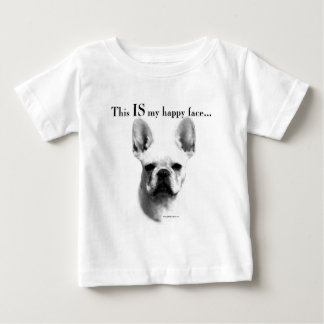 Frenchie Happy Face Baby T-Shirt