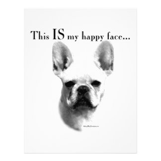 Frenchie Happy Face Letterhead
