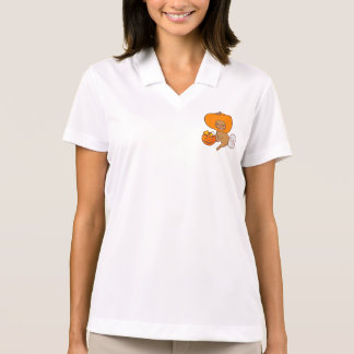 Frenchie in contume for Halloween party Polo Shirt