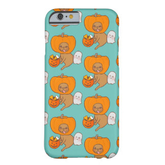 Frenchie in costume for Halloween party Barely There iPhone 6 Case