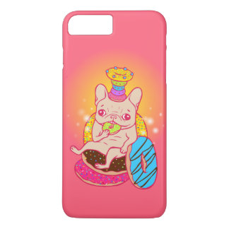 Frenchie is The King of Doughnuts iPhone 7 Plus Case