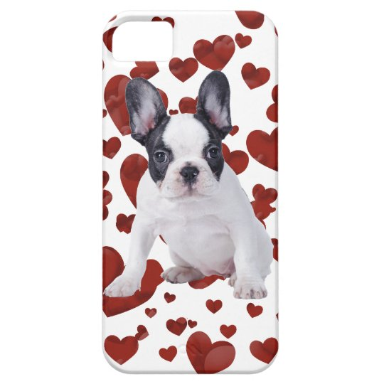 Frenchie love iPhone SE/5/5s case