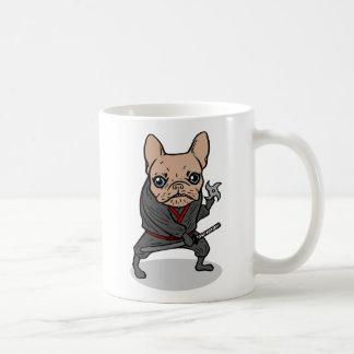 Frenchie Ninja Coffee Mug