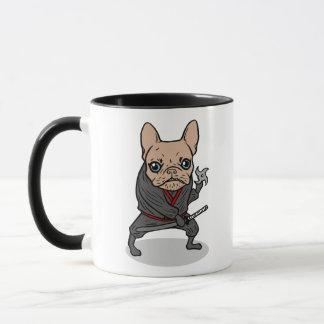 Frenchie Ninja Mug