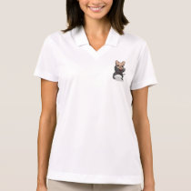 Frenchie Ninja Polo Shirt