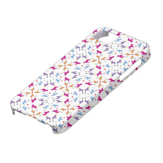 Frenchie Pattern iPhone SE/5/5s Case