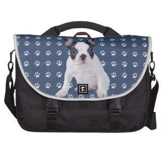 Frenchie - perrito del dogo francés bolsas de ordenador