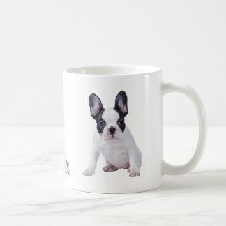 Frenchie - perrito del dogo francés taza de café