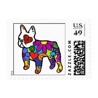 Frenchie Power Stamps
