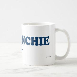Frenchie Pug Blue Coffee Mug