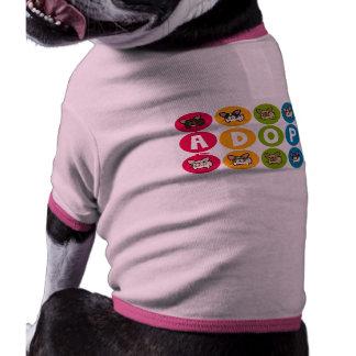 Frenchie Rainbow Adopt Doggie Shirt