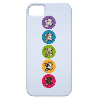 Frenchie Rainbow iPhone SE/5/5s Case