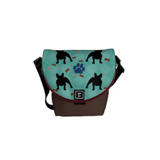 Frenchie Shadow Courier Bag