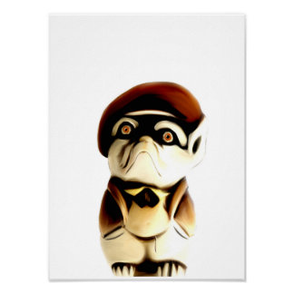 Frenchie Small Poster