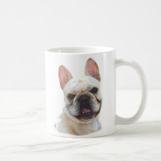 Frenchie smiling mug