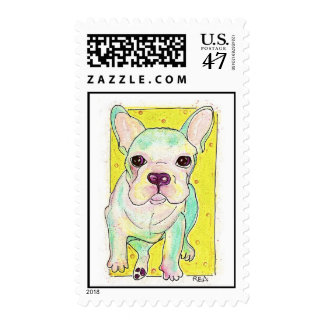 Frenchie Timbre Postal