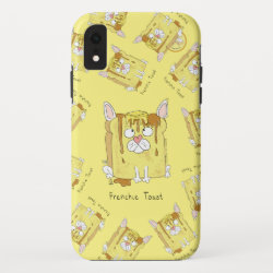Case-Mate Barely There Apple iPhone XR Case with Bulldog Phone Cases design