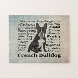 Frenchie Traits Jigsaw Puzzle
