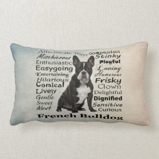 Frenchie Traits Pillow