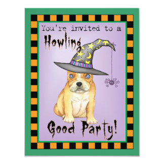 Frenchie Witch Card