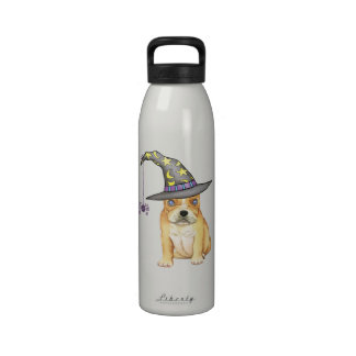 Frenchie Witch Drinking Bottle