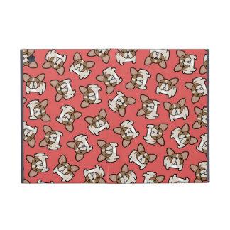 Frenchies de varios colores del cervatillo iPad mini funda