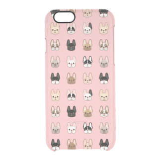 Frenchies Family Clear iPhone 6/6S Case