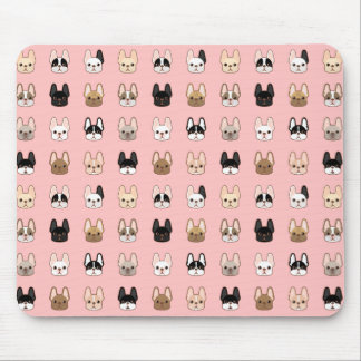 Frenchies Family Mouse Pad