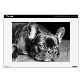 """Frenchies Forever French Bulldog Decals For 15"""" Laptops"""