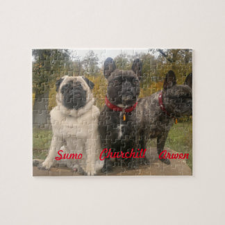 Frenchies & Pugs Jigsaw Puzzle