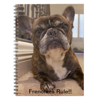 Frenchies Rule!! Note Book