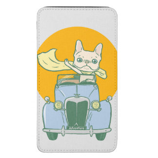 Frenchie's summer road trip galaxy s5 pouch