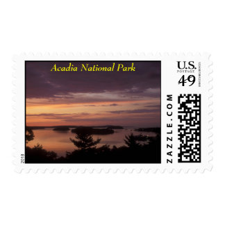 Frenchman Bay at Dawn, Acadia National Park Postage