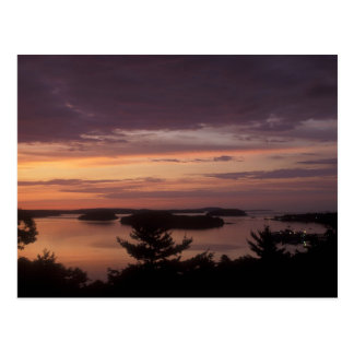 Frenchman Bay at Dawn Acadia National Park Postcard