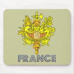 Frenchman Emblem Mouse Pad