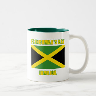 FRENCHMANS BAY Jamaica Beach Tshirts, Gifts Two-Tone Coffee Mug